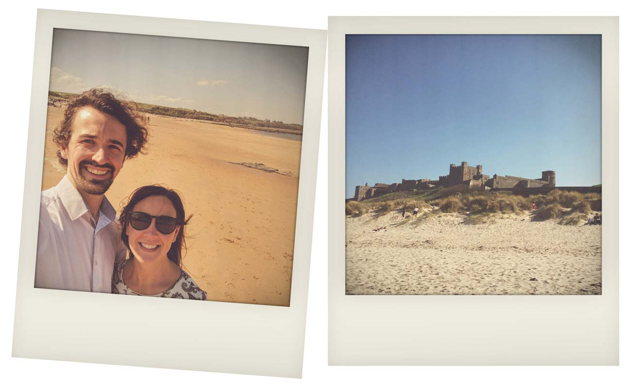 A Short Break in Northumberland - Bamburgh Beach