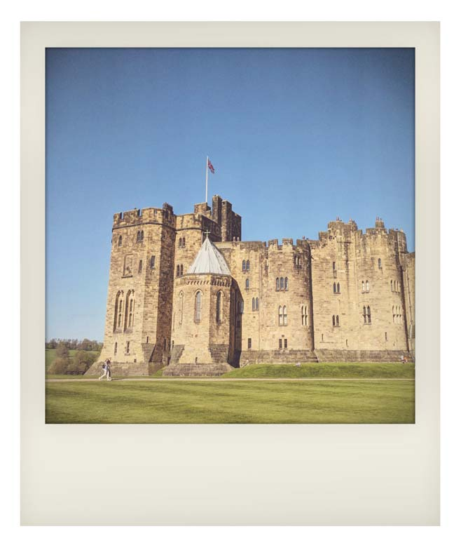 A Short Break in Northumberland - Alnwick Castle aka Hogwarts