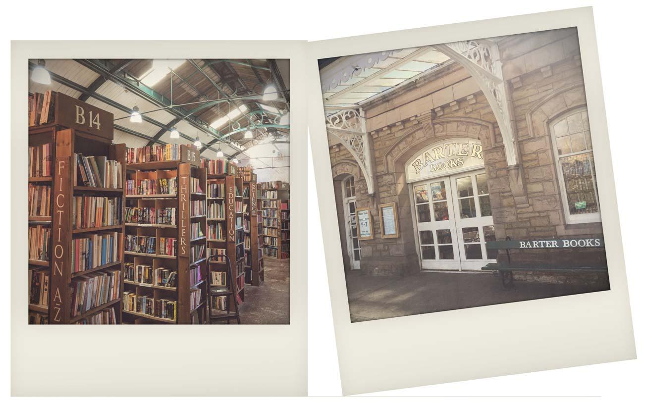 Visit Northumberland - Barter Books, Alnwick