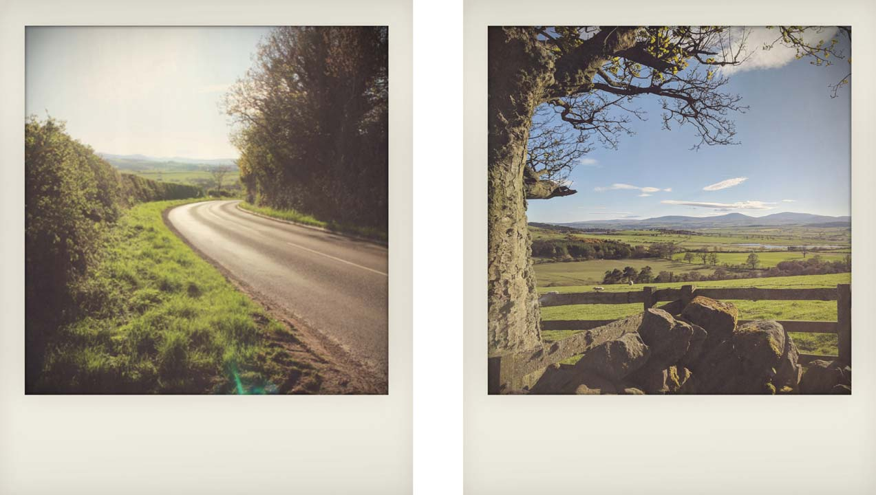 Drive to Chatton