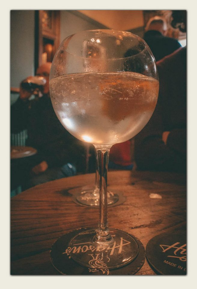 Liverpool Gin at The Belvedere Pub