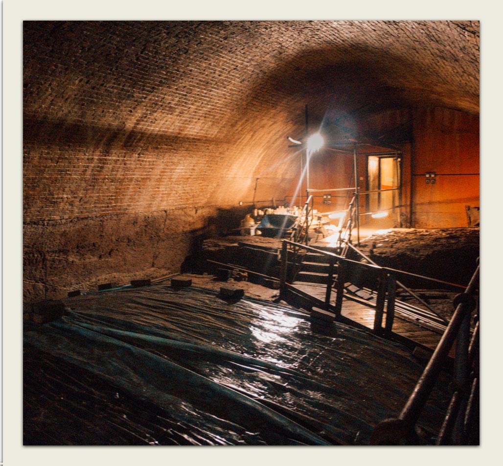 Inside Williamson Tunnels
