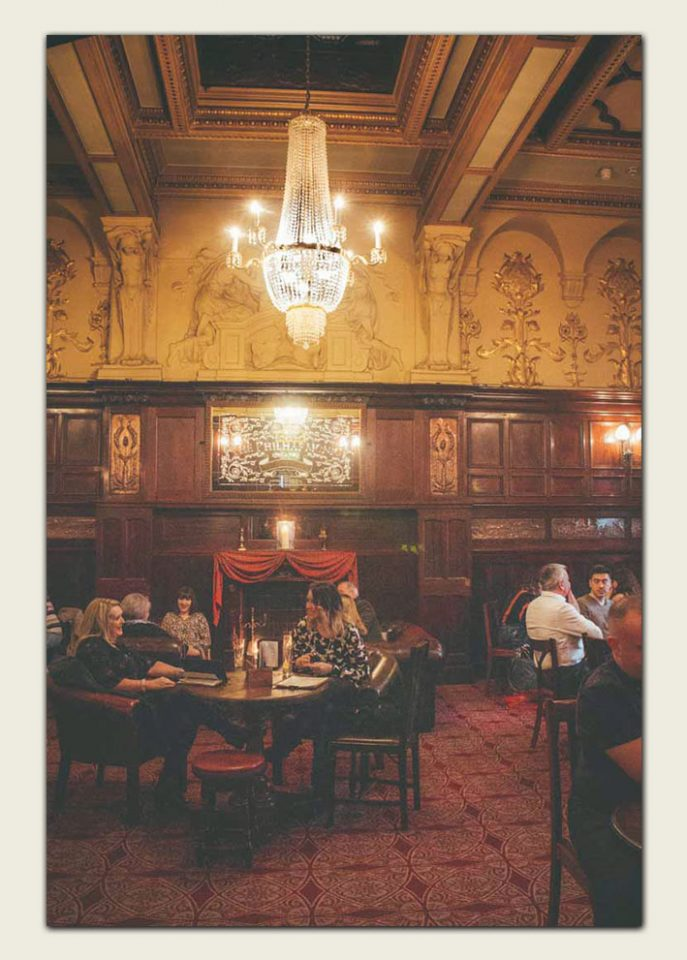 Inside the Philharmonic Dining Rooms, Liverpool