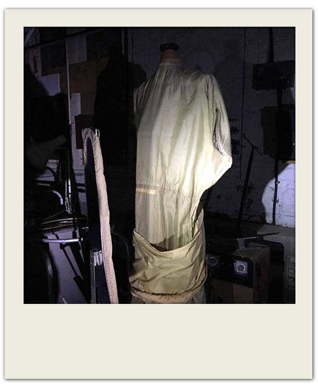a mannequin inside the laundry room of Newsham Park Hospital Ghost Hunt