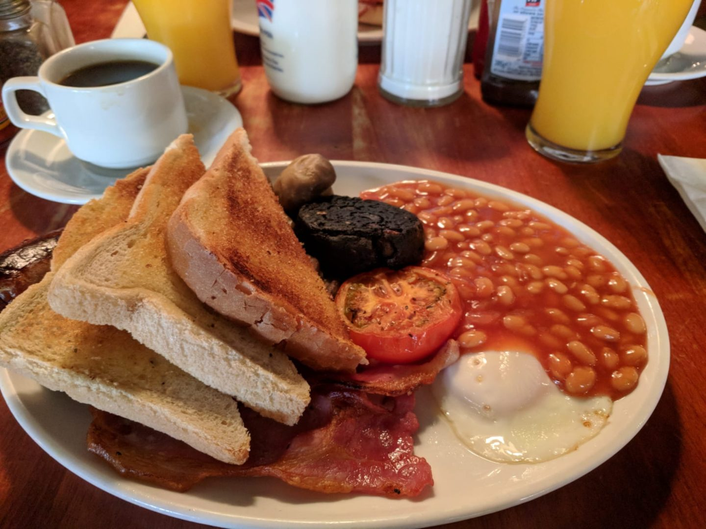 Full English Breakfast at The Tavern Co., Liverpool