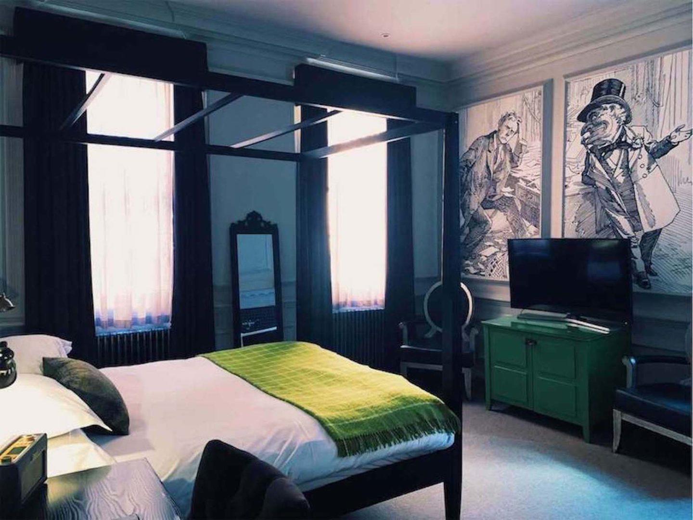 Bedroom in Judges Court Hotel, York