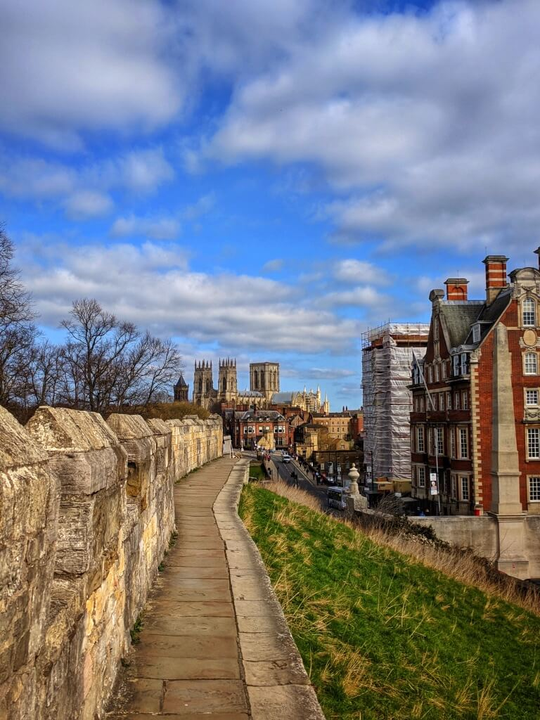 view from the York Walls