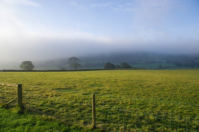 North York Moors looking beautiful in the mist - a great day trip from York