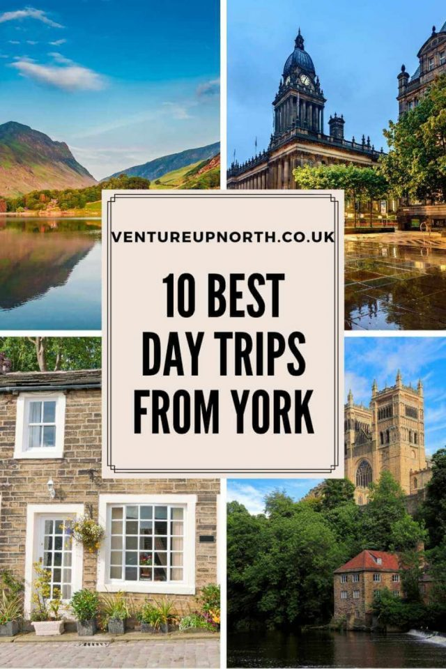 Want to plan a day trip from York? Click here for 10 of the best day trips from York including Haworth, the Lake District, Durham and more! #york #yorkshire #yorkdaytrip