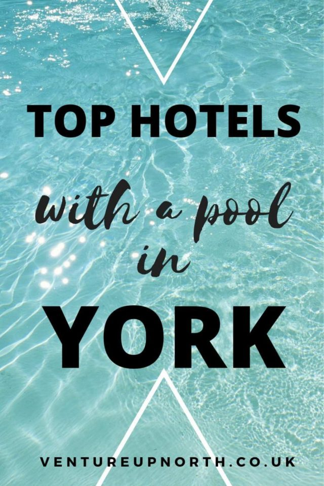 Want to stay in a hotel with a swimming pool in York? Click here for the best hotels with a pool in York within 5 miles of the city walls #york #yorkshire #yorkhotel