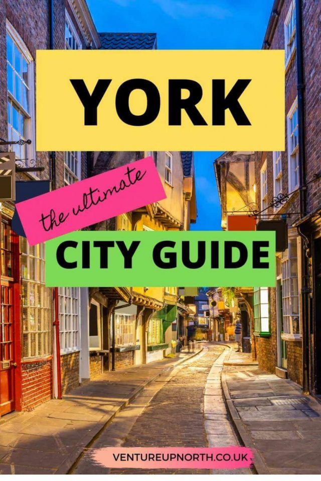Looking for things to do in York? Click here for the ULTIMATE city guide! #york #yorkshire #thingstodoyork