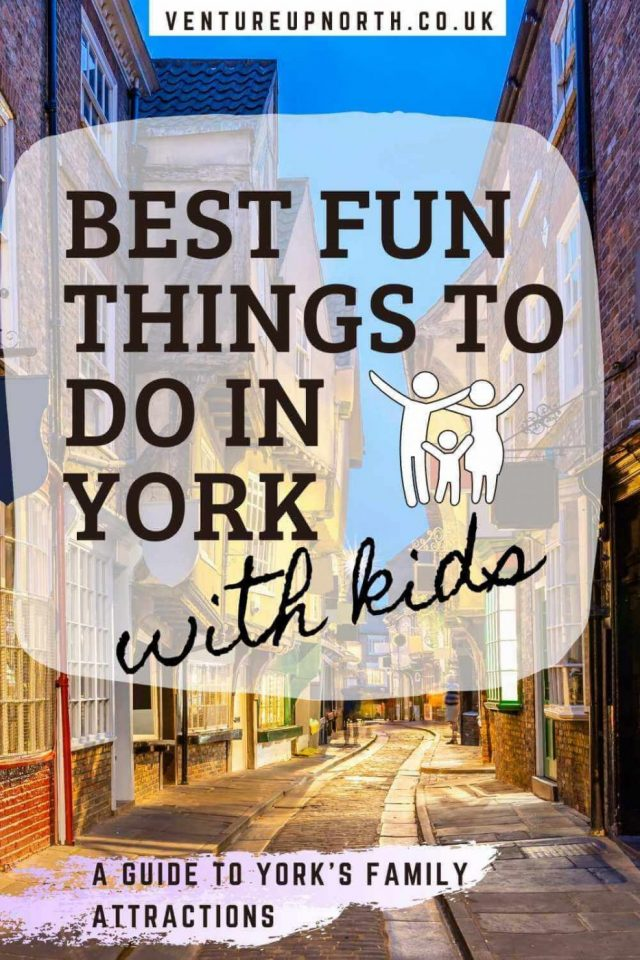 Looking for things to do in York with kids? Read on for the most fun things to do in York with children! #york #yorkshire