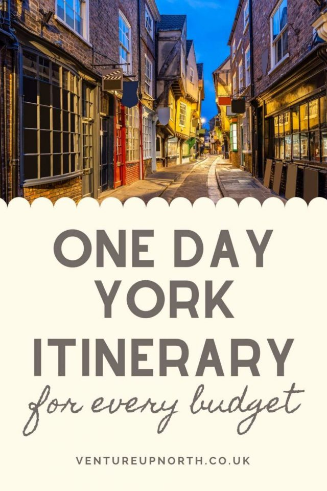 Looking for a perfect one day York Itinerary? Here are my top picks for a one day York itinerary to suit every budget! #york #yorkshire #visityork