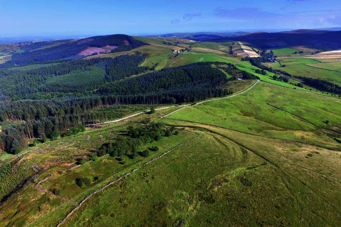 view of Macclesfield Forest from Shutlinsloe